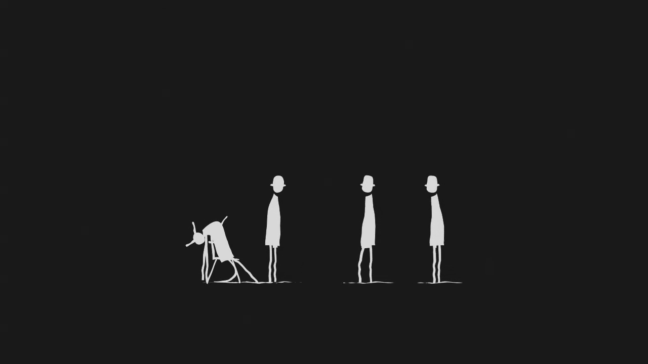 Simplistic Yet Powerful Silhouette Animation - Vid Milis